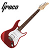 Greco WS-STD SSH - Metaliic Red (Rosewood)