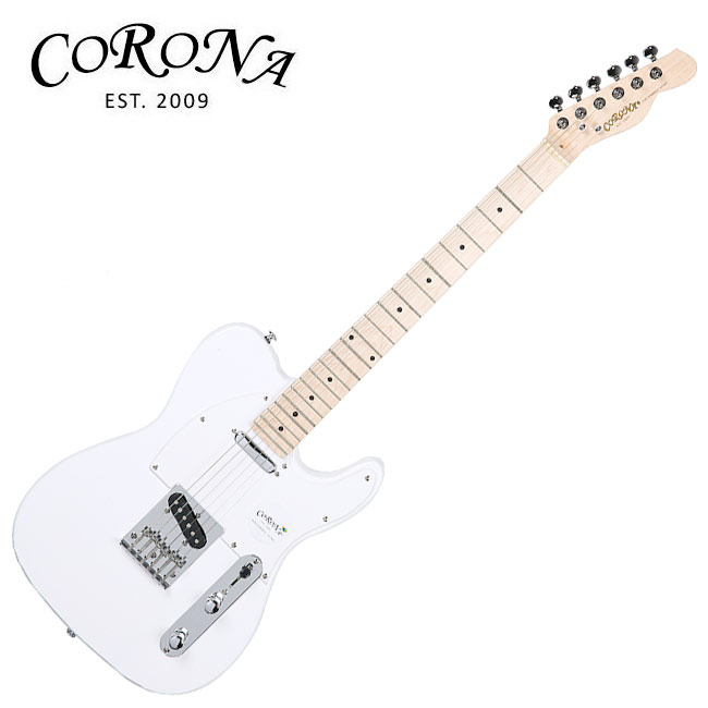 Corona CTC-250(M) Olympic White / 코로나 텔래캐스터 일렉기타