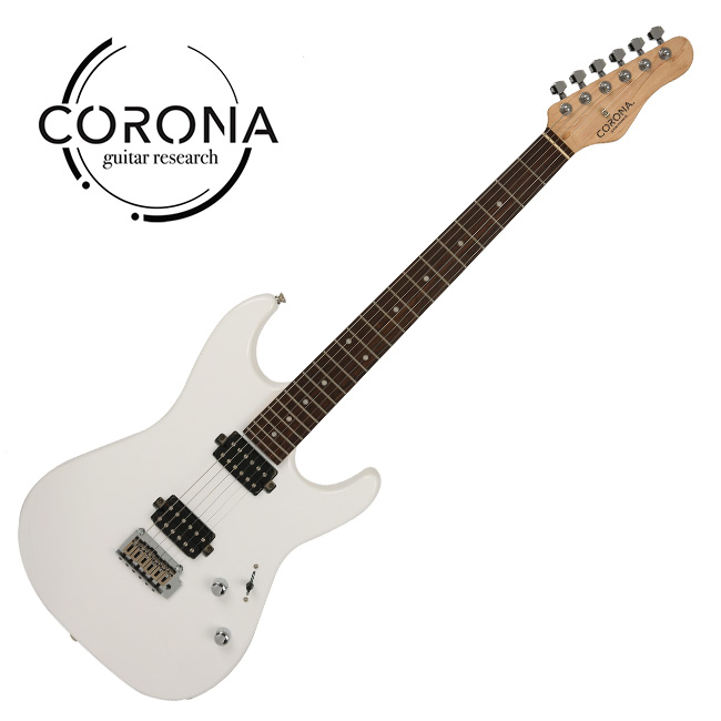 [10th New Generation]<br>Corona - Modern Standard / 코로나 일렉기타 Olympic White (L)
