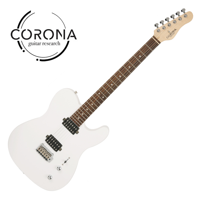 [10th New Generation]<br>Corona - Modern Standard T / 코로나 일렉기타 Olympic White (Laurel)