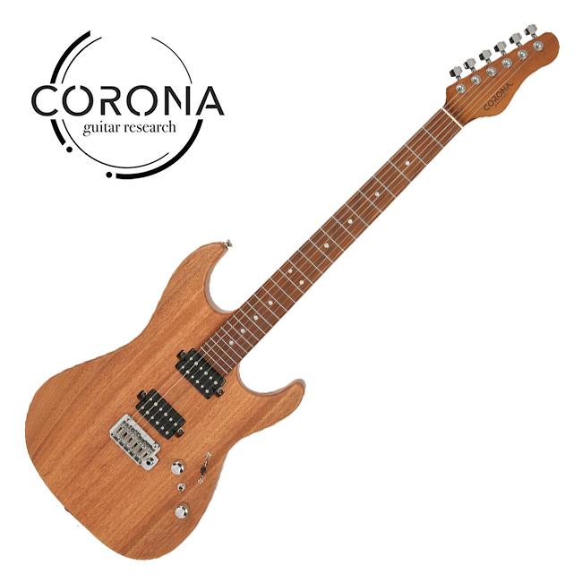 [10th New Generation]<br>Corona - Modern Plus / 코로나 일렉기타 Mahogany Satin