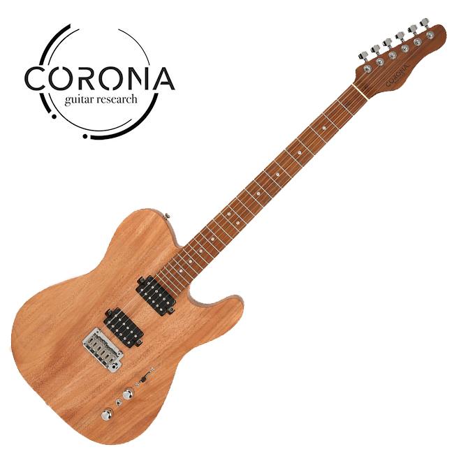 [10th New Generation]<br>Corona - Modern Plus T / 코로나 일렉기타 Mahogany Satin