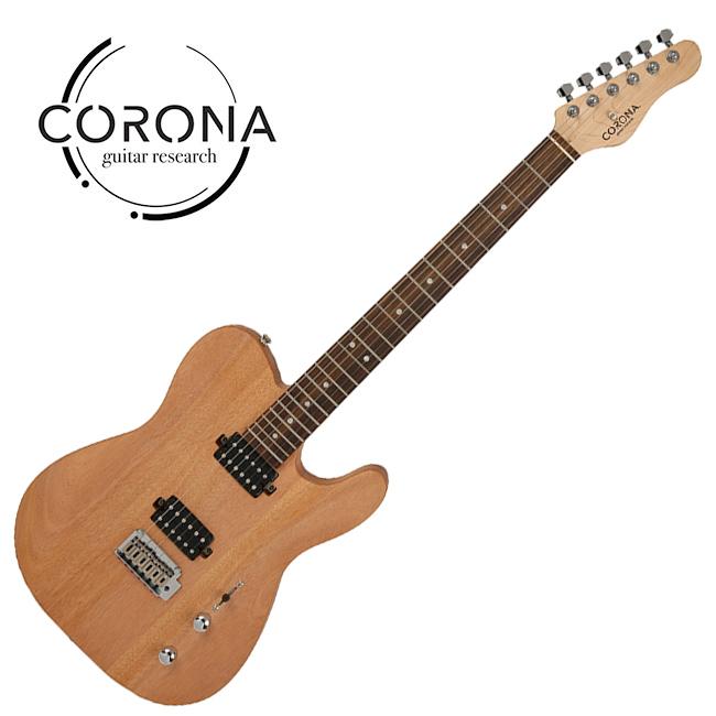 [10th New Generation]<br>Corona - Modern Standard T / 코로나 일렉기타 Mahogany Satin (Laurel)