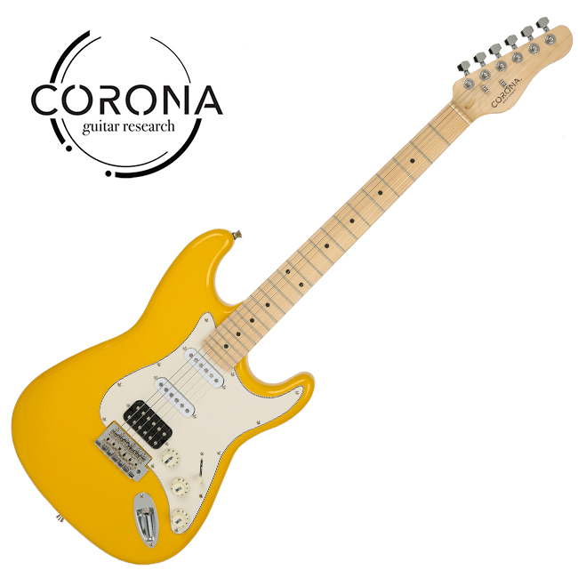 [10th New Generation]<br>Corona - Traditional Player ST / 코로나 일렉기타 Yellow(M)