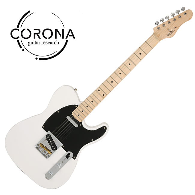 [10th New Generation]<br>Corona - Traditional Classic TE / 코로나 일렉기타 Olympic White (Maple)