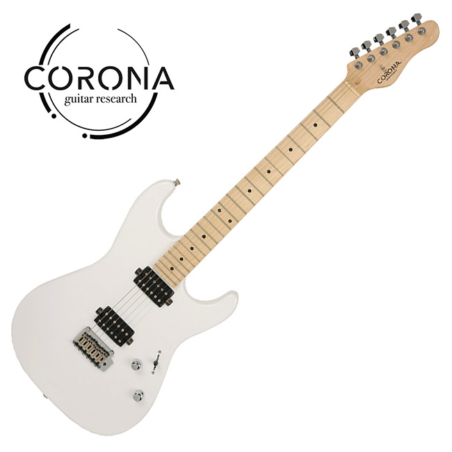 [10th New Generation]<br>Corona - Modern Standard / 코로나 일렉기타 Olympic White (M)