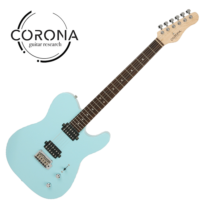 [10th New Generation]<br>Corona - Modern Standard T / 코로나 일렉기타 Daphne Blue (Laurel)