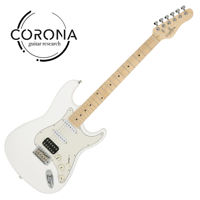 [10th New Generation]<br>Corona - Traditional Player ST / 코로나 일렉기타 White(M)