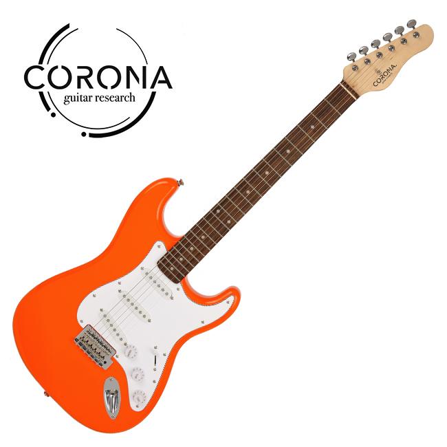 [10th New Generation]<br>Corona - Traditional Classic ST / 코로나 일렉기타 Orange (Laurel)