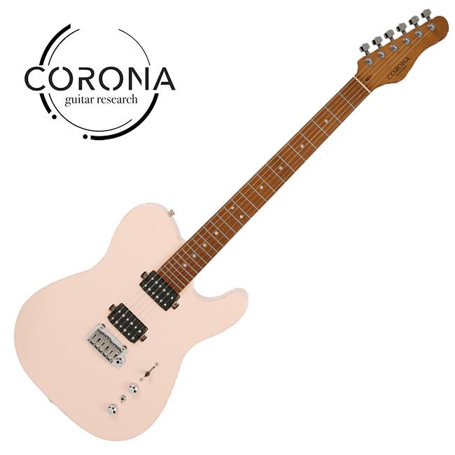 [10th New Generation]<br>Corona - Modern Plus T / 코로나 일렉기타 Shell Pink
