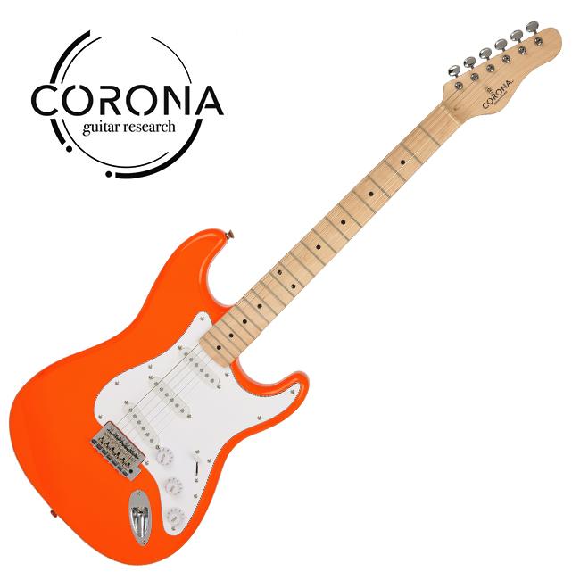 [10th New Generation]<br>Corona - Traditional Classic ST / 코로나 일렉기타 Orange (Maple)