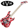 EVH Striped 5150 Series - Red with Black & White