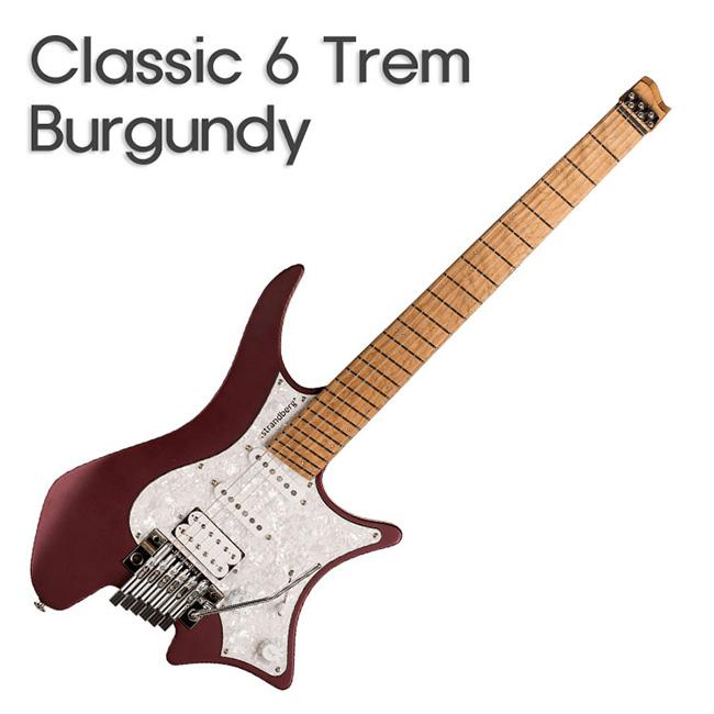 Strandberg Boden Classic 6 Burgundy Mist / 스트랜드버그 일렉기타