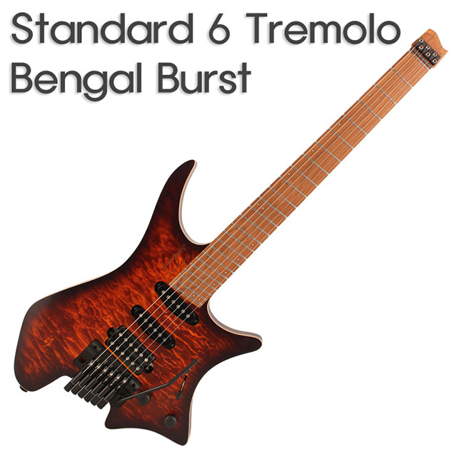 Strandberg Boden Standard 6 Tremolo Bengal Burst / 스트랜드버그 일렉기타