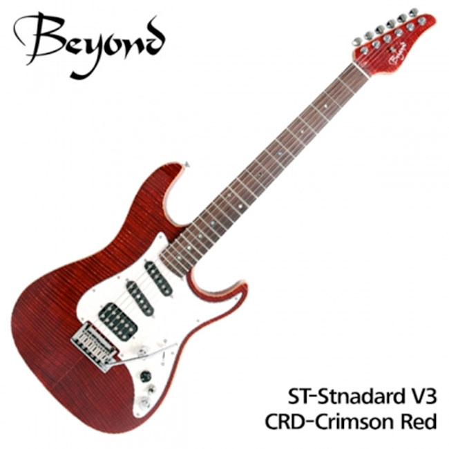 Beyond 일렉기타 ST-Standard V3 (BE) Crimson Red (Rosewood)