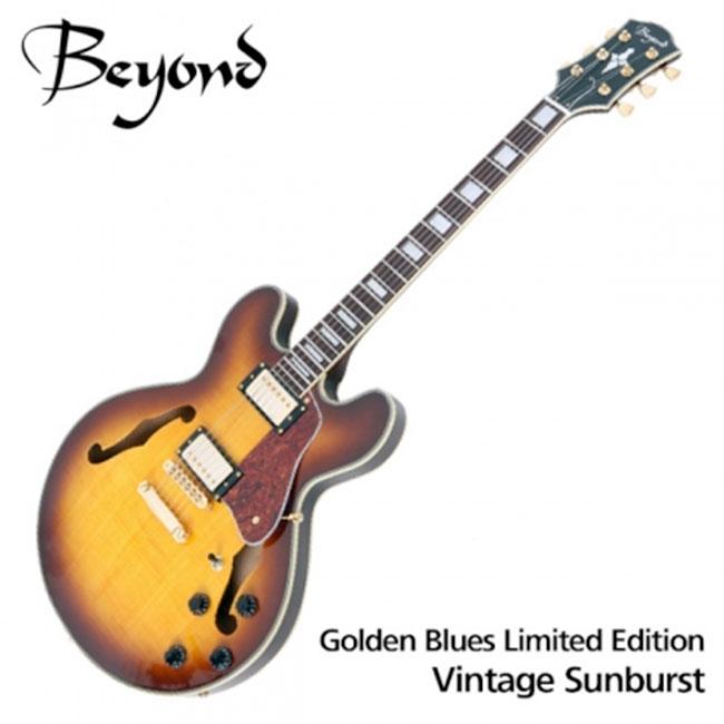 Beyond 일렉기타 Golden Blues VR Limited Edition - Vintage Sunburst