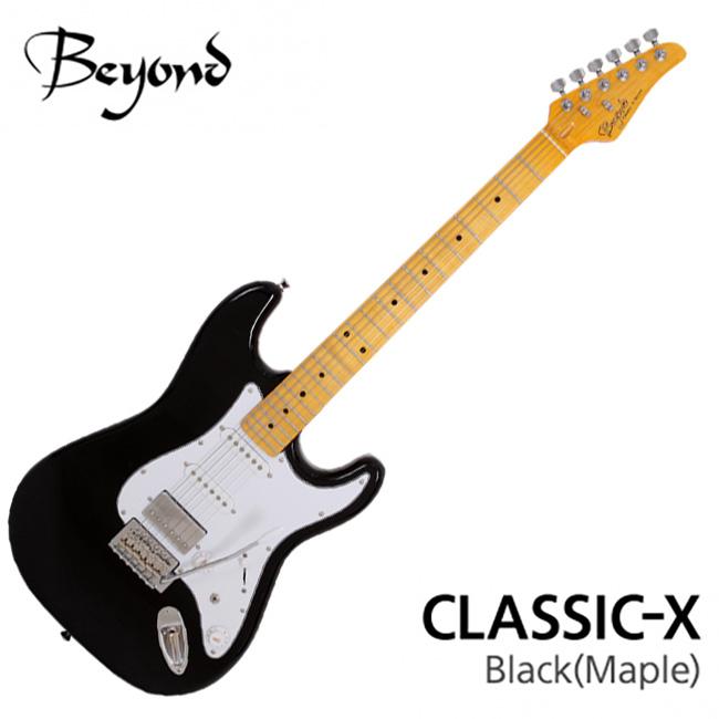 [2020 New] Beyond - Classic X / 비욘드 일렉기타 (Black / Maple)