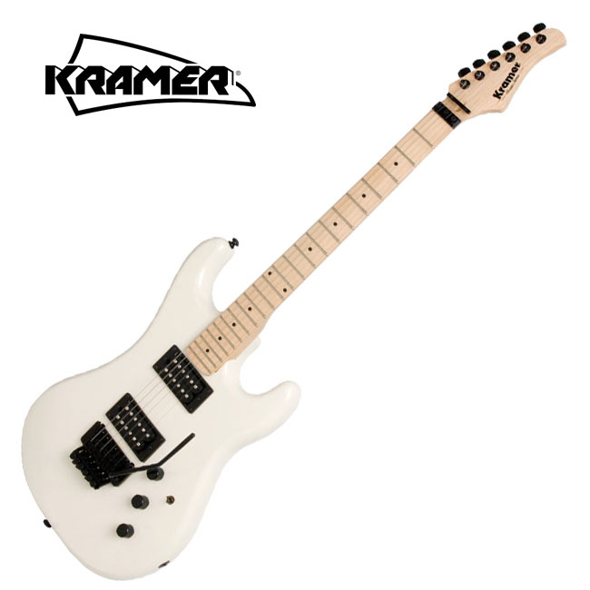 Kramer Pacer Classic Pearl White(KPC-PWBF1)