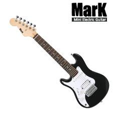 <font color=#262626>Mark Mini Stratocaster Black (Left Hand) / 어린이용 미니 일렉기타 왼손잡이용 (케이스미포함)</font>