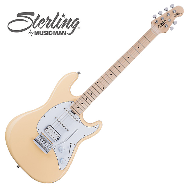 Sterling - Cutlass<br>VIntage Cream MN/HSS<br>(CT30 HSS)
