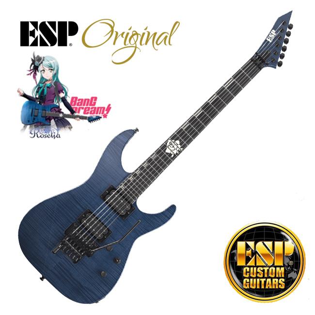 [프리오더 - ESP 콜라보레이션]<br>ESP Original - BanG Dream <br>Roselia M-II FR Sayo II