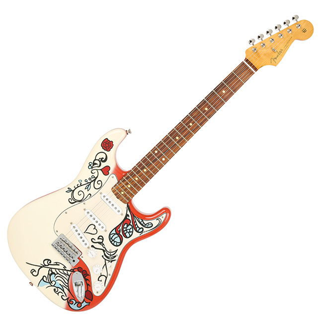 Fender Jimi Hendrix Monterey Stratocaster Limited Edition (014-4953-340)