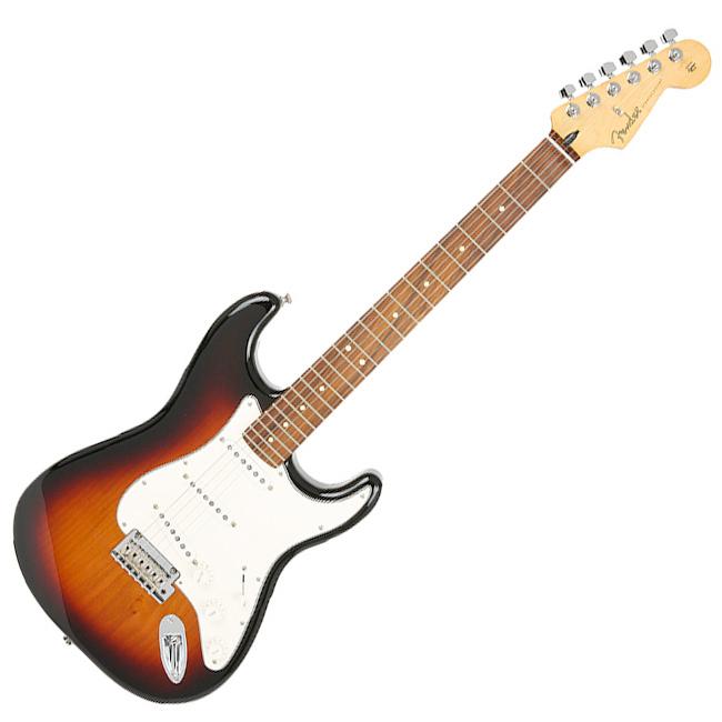 Fender Mexico Player Stratocaster - 3 Tone Sunburst / Pau Ferro (014-4503-500)