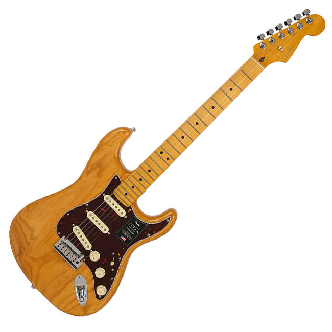 Fender American Ultra Stratocaster - Aged Natural / Maple (011-8012-734)