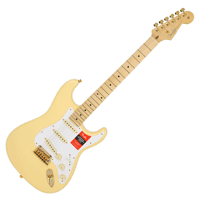 [Limited Edition] Fender American Professional Stratocaster - Vintage White Gold / Maple (017-0223-741)