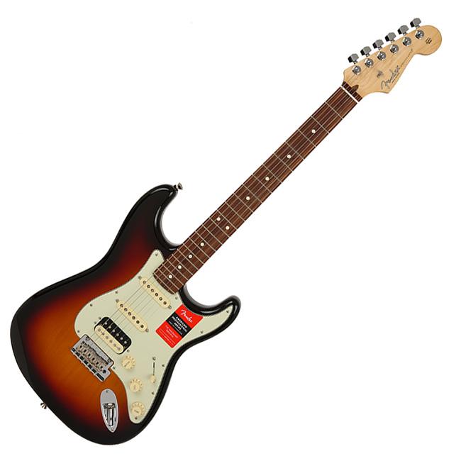 Fender American Professional Stratocaster HSS Shawbucker - 3 Tone Sunburst / Rosewood (011-3040-700)