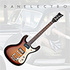 Danelectro 64 Electric Guitar - 3 Tone Sunburst