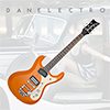Danelectro 64 Electric Guitar - Orange Metallic