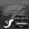 Danelectro 59M NOS PLUS Electric Guitar - Black