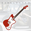 Danelectro 67 Dano Electric Guitar - Red