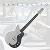 Danelectro 59MJ Electric Guitar - Silver Metal Flake