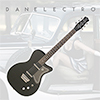 Danelectro 56 Single Cut Electric Guitar - Black