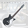 Danelectro 59MJ Electric Guitar - Black Metal Flake