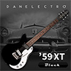 Danelectro 59XT Electric Guitar - Black