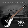 Danelectro 59X Electric Guitar - Black