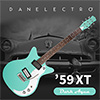 Danelectro 59XT Electric Guitar - Dark Aqua