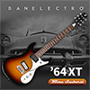 Danelectro 64XT Electric Guitar - 3 Tone Sunburst