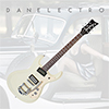 Danelectro 64 Electric Guitar - Vintage White