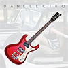 Danelectro 64 Electric Guitar - Red Metallic