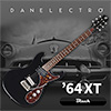 Danelectro 64XT Electric Guitar - Black