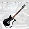 Danelectro 59M SPRUSE Electric Guitar - Black Pear