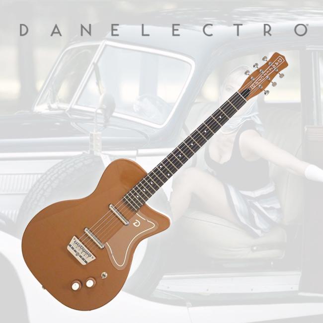 Danelectro 56 Single Cut Electric Guitar - Copper