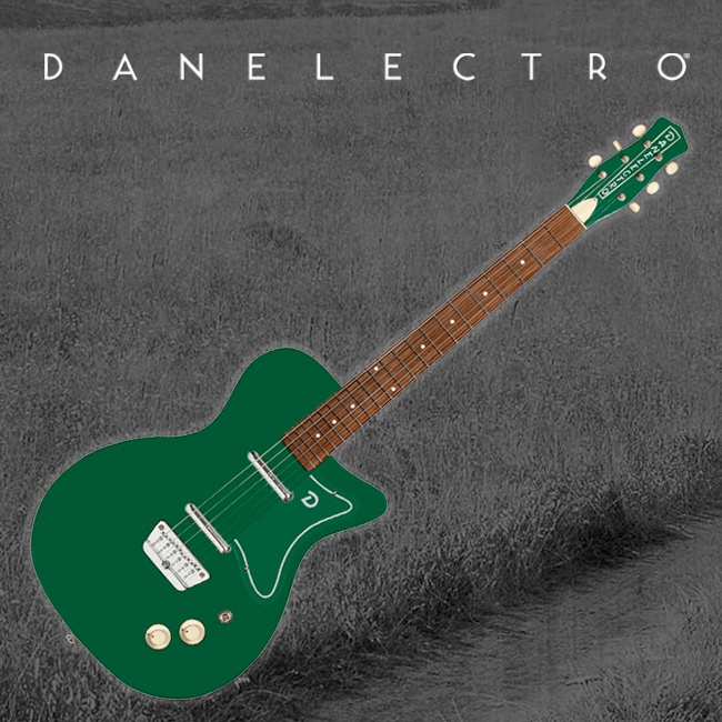 Danelectro 57 JADE Electric Guitar / 댄일렉트로 일렉기타 (Jade)