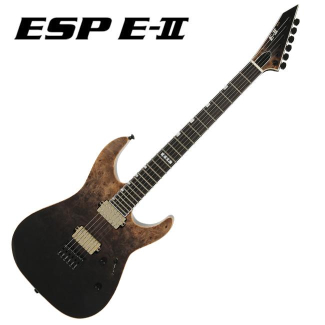 ESP E-II M-II NT BM (BLACK NATURAL FADE)