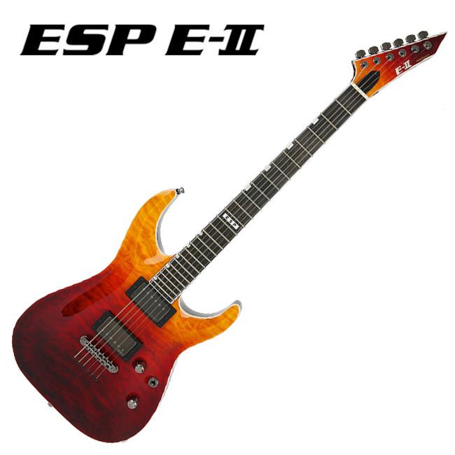 ESP E-II HORIZON NT-II (Tiger Amber Fade)