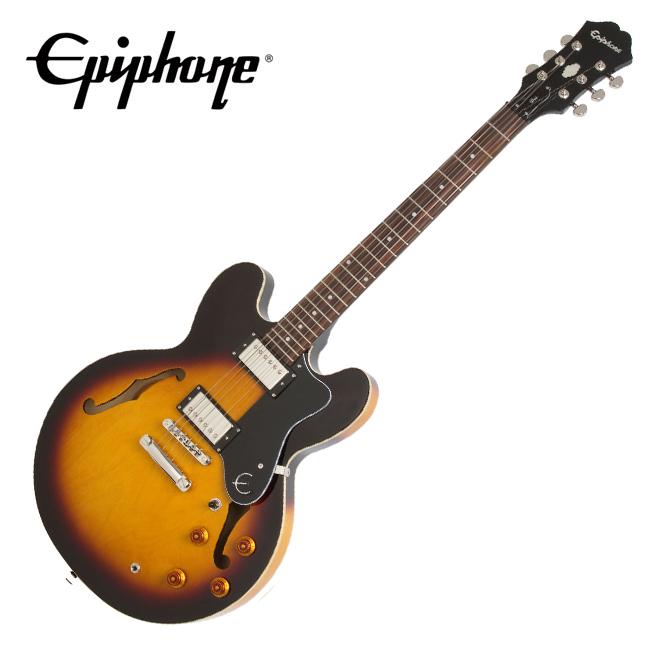 Epiphone The Dot Vintage Sunburst / The Original ES semi-hollow body / 에피폰 닷 (ETDTVSCH1)